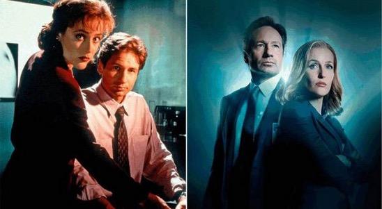 """Wajah Pelakon """"The X-Files"""" Dulu dan Kini"""