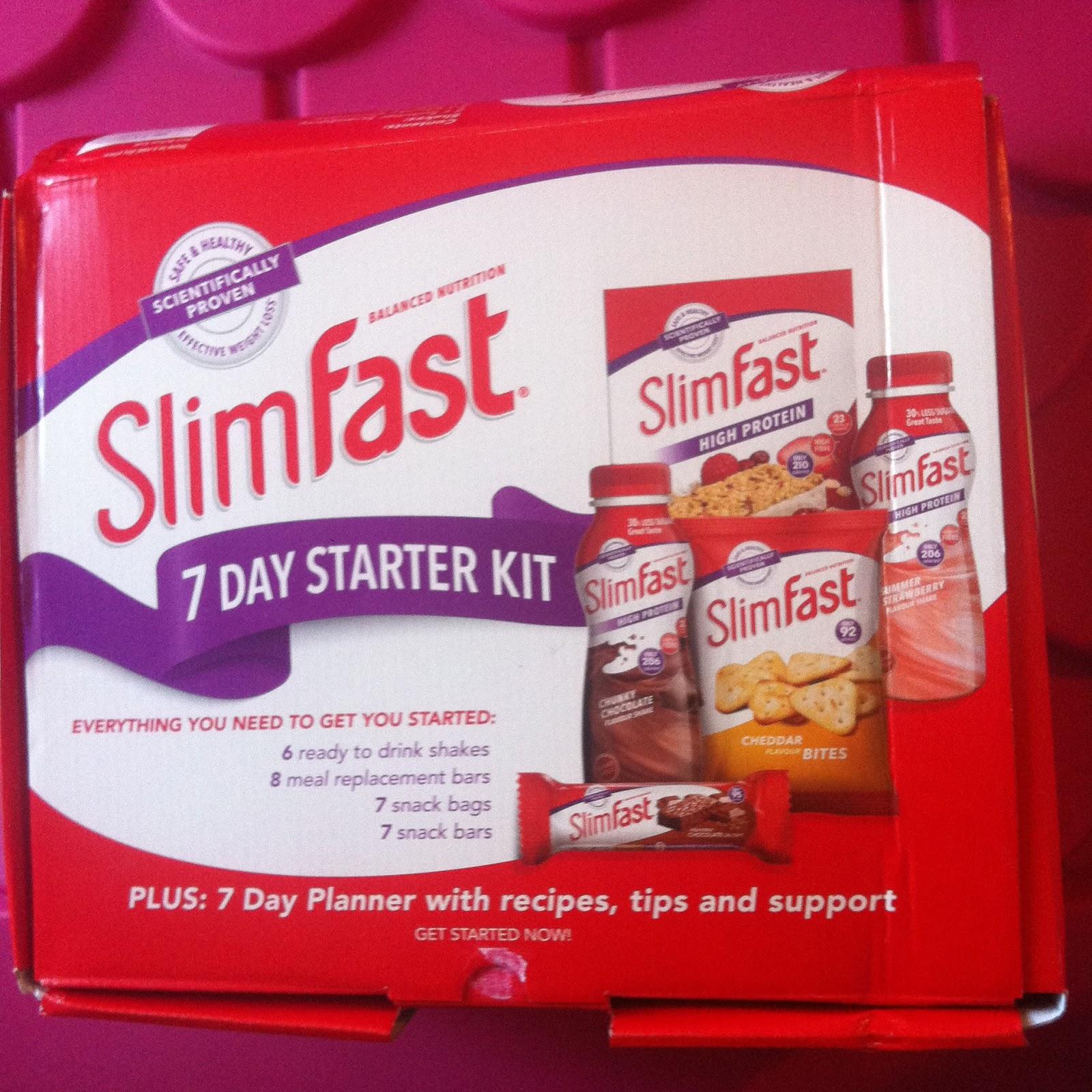 Slimfast 7 Day Starter Kit Challenge Results