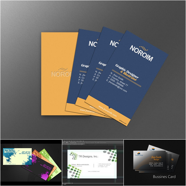 دورات ودروس تصميم بطاقات بزنس كارد 2015