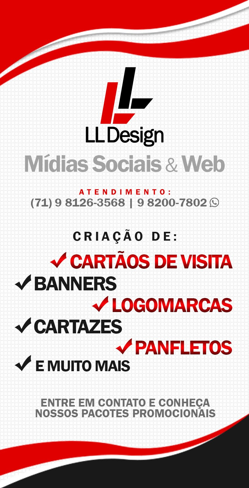 LL DESIGN - MÍDIAS SOCIAIS E WEB