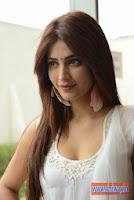Shruti-Hassan-Latest-Cute-White-Churidar-Stills