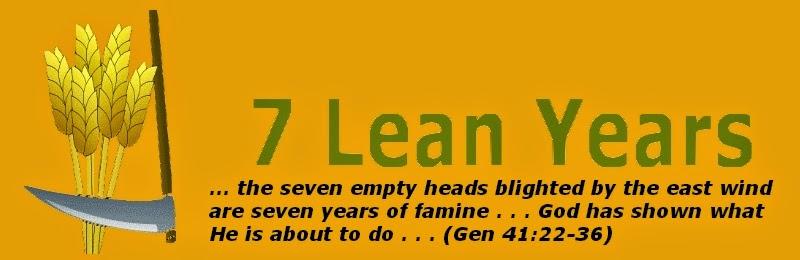 <center>Seven Lean Years</center>
