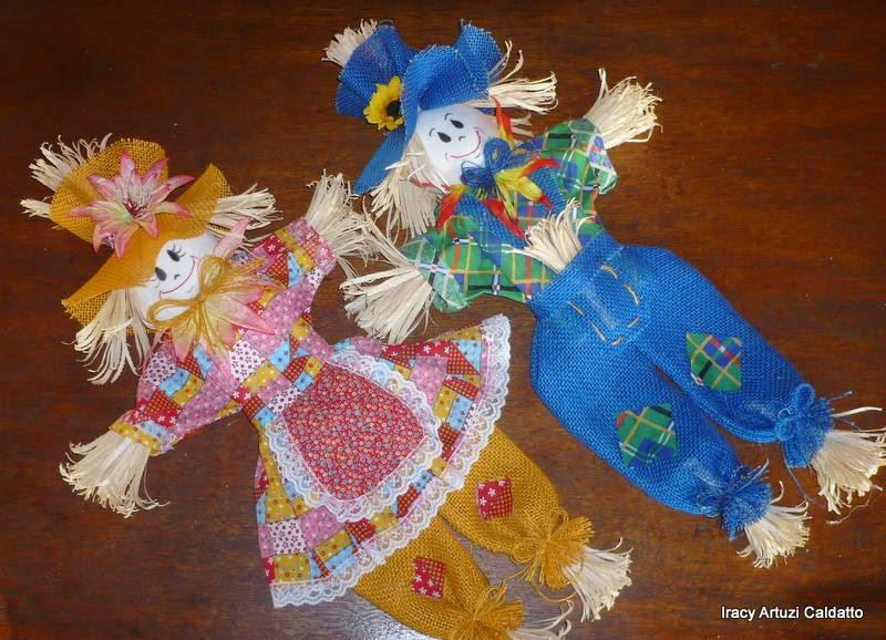 Artesanato Origem Palavra ~ Iracy Artesanato em Fibras e Folhas Vegetais Festa Juninas com boneco espantalho de palha