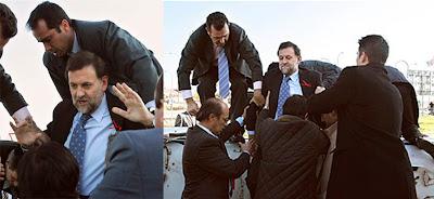 Rajoy sufrió un accidente de avión en 2005