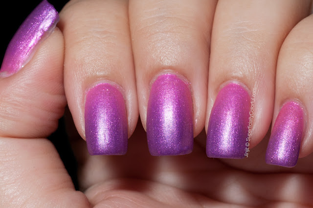 Superficially Colorful Lacquer  Mood Swings Giggly Thermal polish