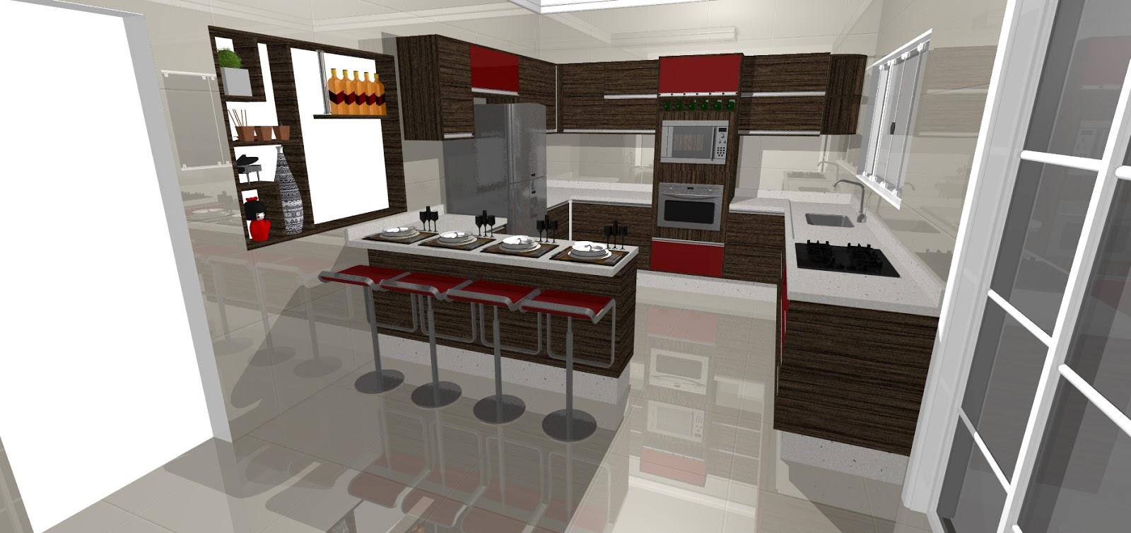 Curso de promob plus projeto da cozinha que vendi neste for Programa para crear cocinas