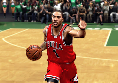NBA 2K13 Derrick Rose Realistic Face Mod Patch