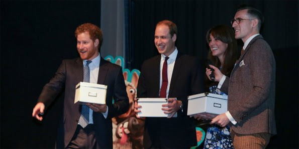 Catherine, Duchess of Cambridge, Prince William, Duke of Cambridge and Prince Harry