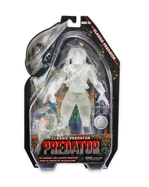 Predator Toys R Us : One per case another cloaked neca predator revealed for