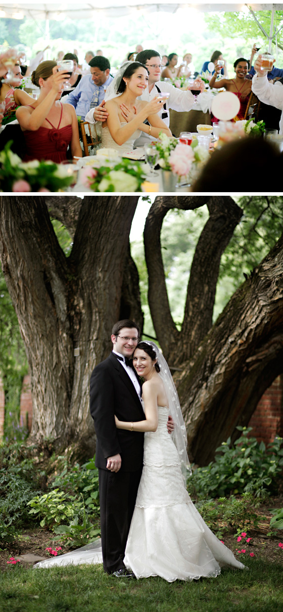 Real Wedding of Caitlin and Matt courtesy of Jennifer Domenick of Love Life Images