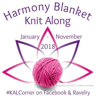 Harmony Blanket KAL 2018