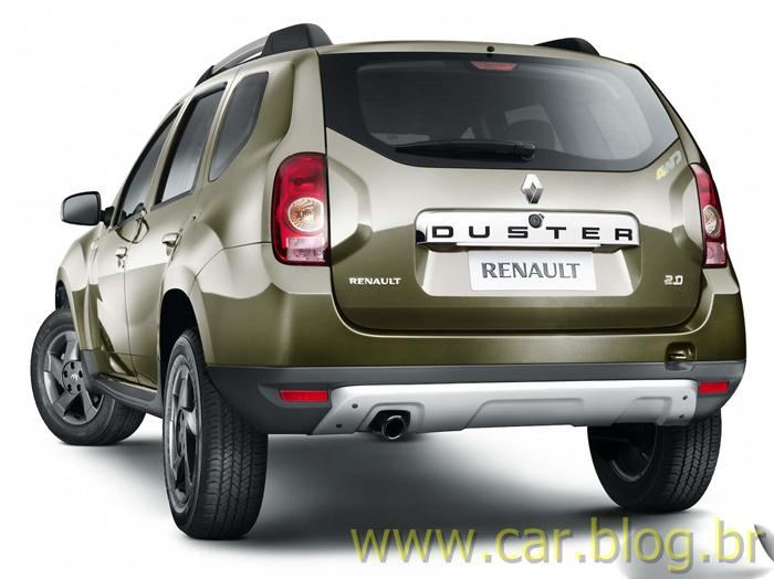 Renault Duster 2012 - traseira