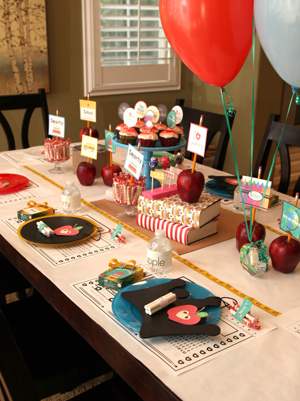 Wants And Wishes Party Planning Back To School Dinner