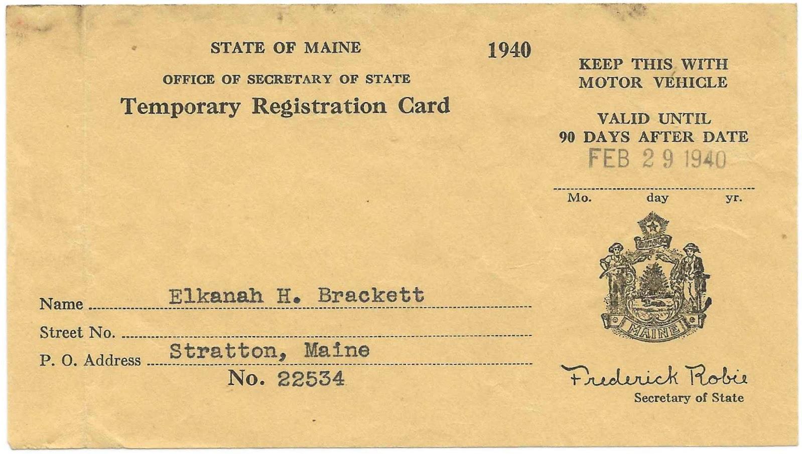Maine Motor Vehicle Registration Impremedia Net