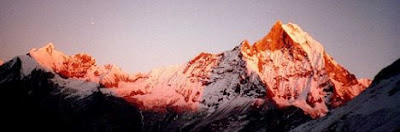 Beautiful Mountain Machaphucare  Nepal