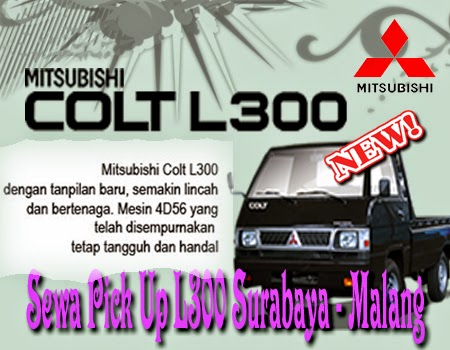 Sewa Pick Up L300 Surabaya - Malang