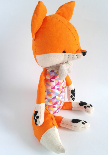 fox soft toy