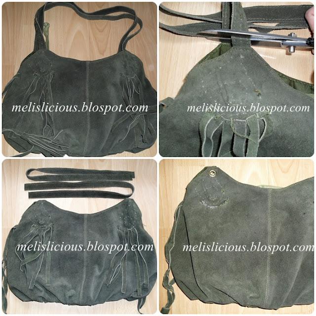 eski çantayı yenileme