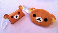 How to Make a Rilakkuma Zipper Felt Pouch DIY tutorial