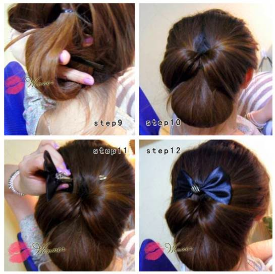 Cara Sanggul Rambut Pendek