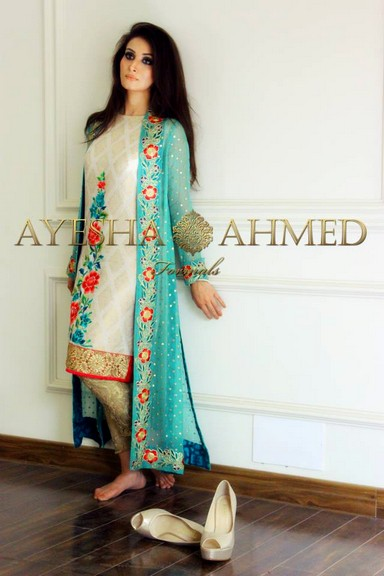 Ayesha Ahmed Formals 2015 2016 New Fashion Trend Of