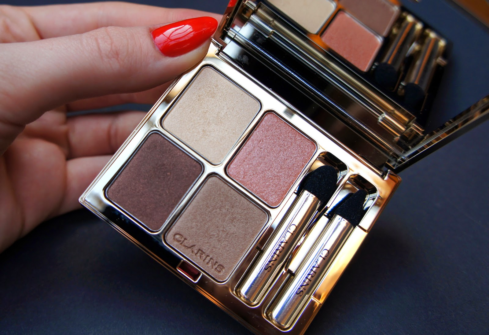 Clarins Ombre Minerale 4 Couleurs N*02 nudes