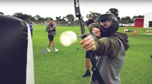 Conheça Archery Tag: Uma espécie de paintball com arco e flecha