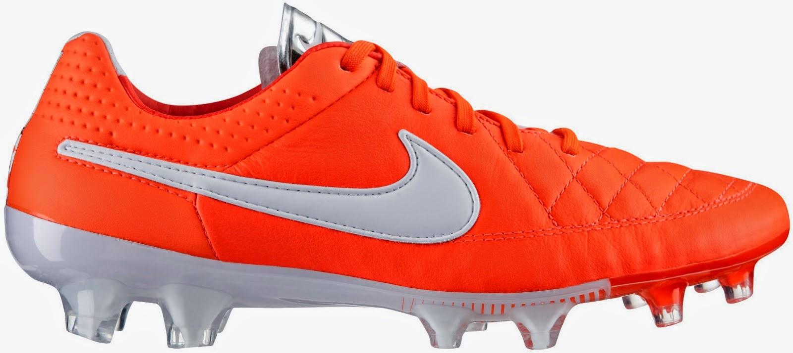 Nike Tiempo Legend V rojas y blancas 2014 84df9bfb13c98