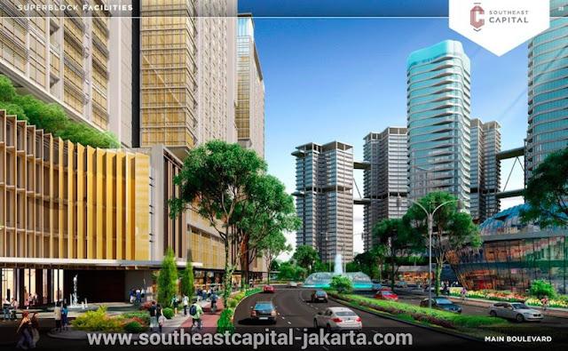 Southeast Capital Jakarta Timur Main Boulevard