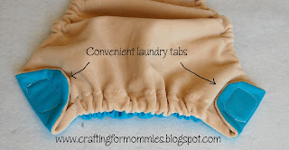 using laundry tabs for velcro