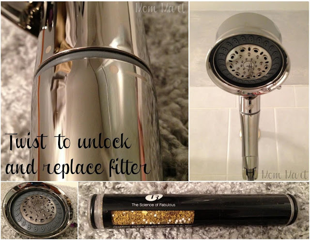 Changing the Filter on the T3 Source Shower Filter Hand Held Shower Head