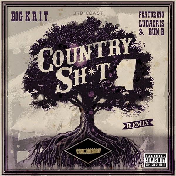 Big K.R.I.T. Country Sh*t (Remix) [feat. Ludacris & Bun B] - Single  Cover