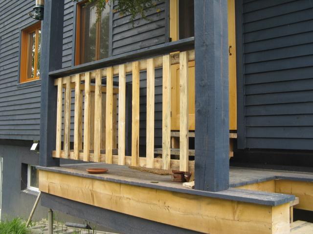 Notre maison ao t 2012 for Porte patio 8 pieds