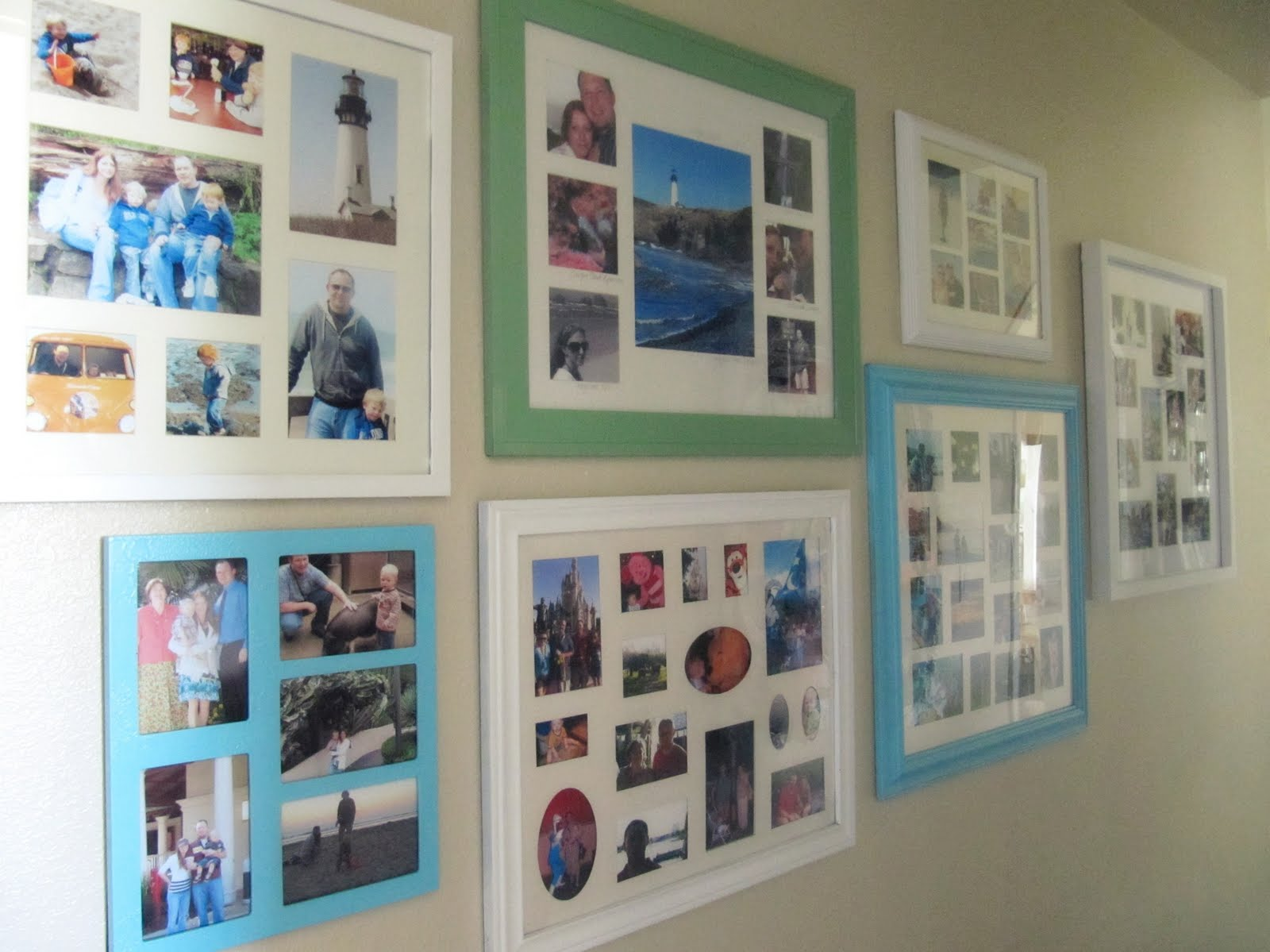 Enjoyable Poster Framing Ideas.  Painting Picture Frames A Gallery Wall The Wicker House