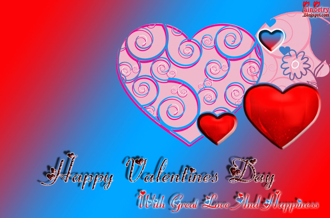 Hearts-Valentine-Multiple-Colors-Walpapers-With-Rainbow-Background-Image-HD-Wide