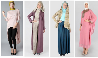 Gambar Baju Muslim Remaja Wanita Modis
