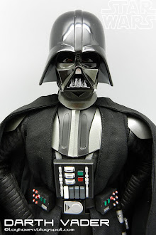 Sideshow Darth Vader with Hasbro helmet