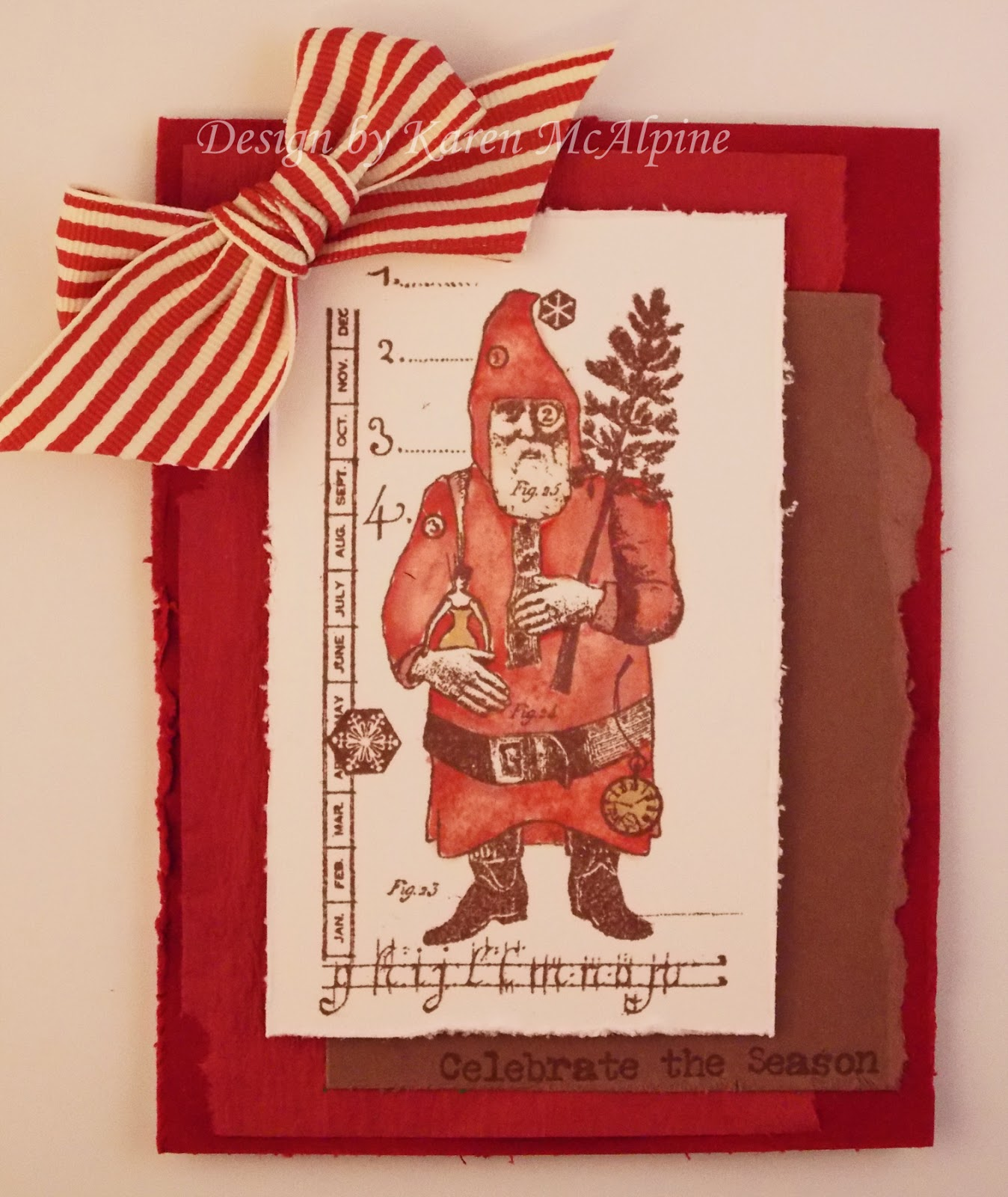 Dreaming and creating vintage santa celebrates with character i stamped with rich cocoa memento ink memento inks work great with copic markers i did color the santa with copics here is how i got kristyandbryce Images