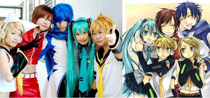 Japanese Anime Conventions