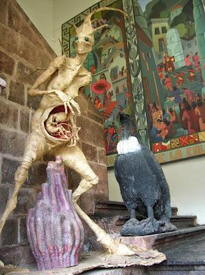Exposición Escuela de Artes, Cusco, Perú, La vuelta al mundo de Asun y Ricardo, round the world, mundoporlibre.com