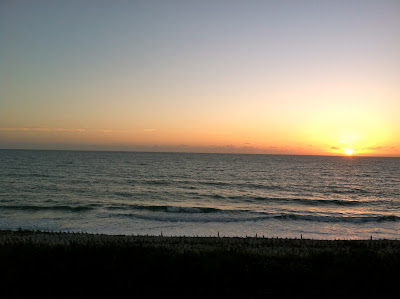 Sunrise over Disney Vero Beach Resort