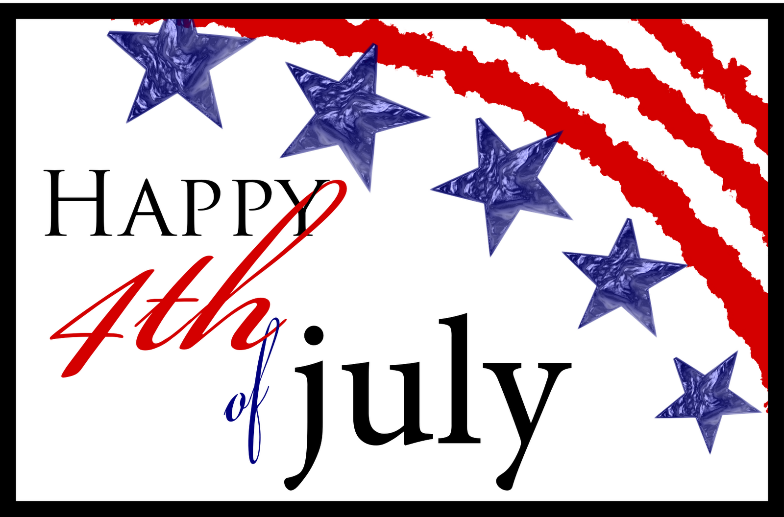 July Thank 4th of July Thank You For