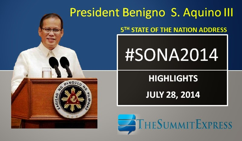 President Aquino SONA 2014 highlights, review for reaction paper