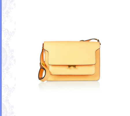 Grace Intemporelle: Marni, leather shoulder bag