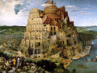 Вавилонская башня. Наши дни.
