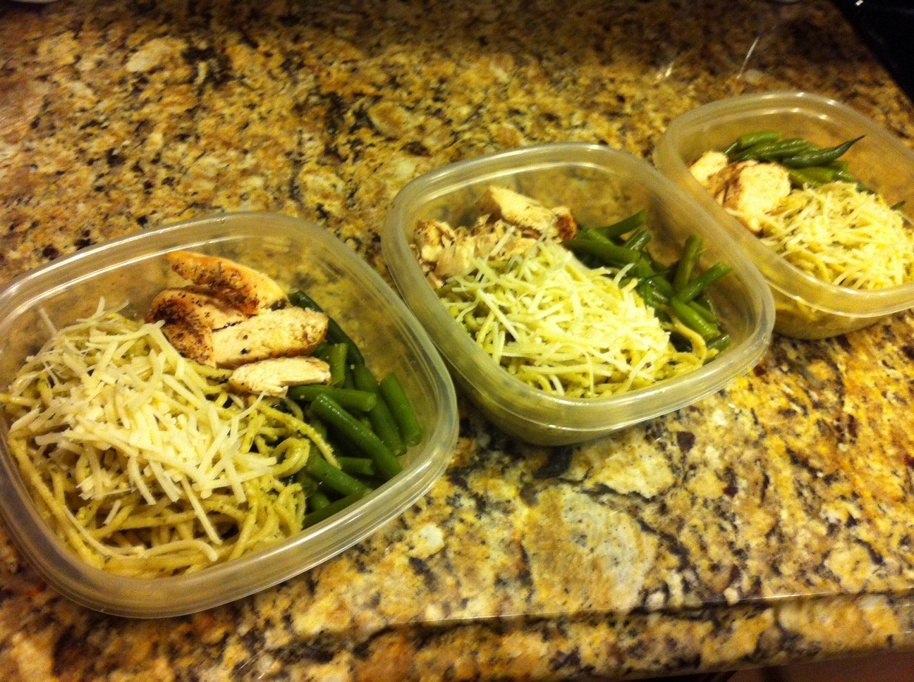 ... Quick Bite for Healthy Living: Fava Bean Pesto Pasta with Chicken