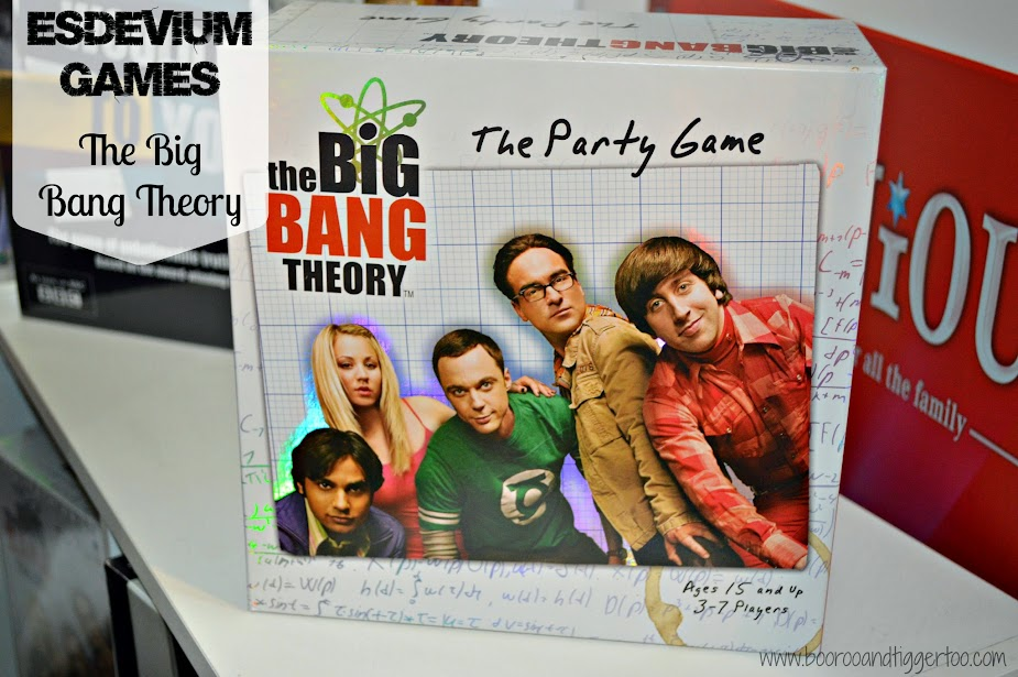 Christmas in July: Esdevium Games - The Big Bang Theory