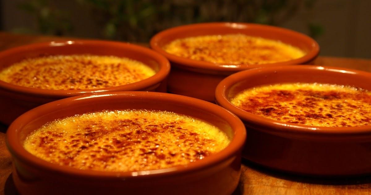 Mina matminnen: Crème brûlée simple
