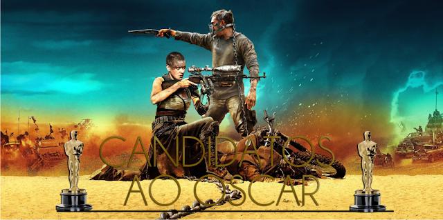 Mad Max: Estrada da Fúria e O Regresso lideram indicações ao Oscar 2016