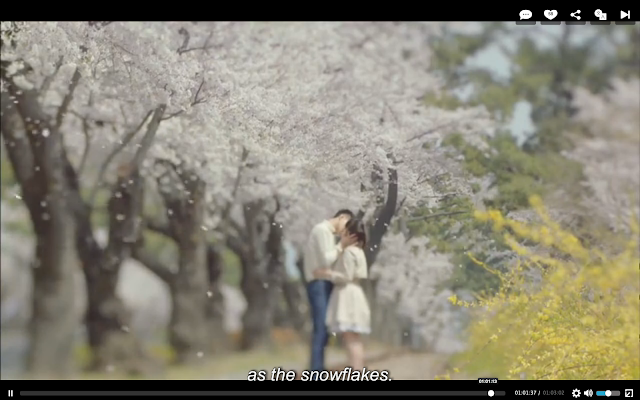 happy ending screenshot of that winter the wind blows